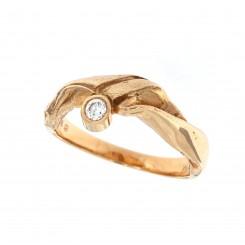 """Rå guld ringen"" Colding design"