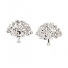 """""""livets træ"""" Originalen sølv rohdineret ørepynt"""