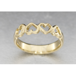 """ Four Hearts ringen "" Colding design"