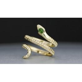 """Snake green"" Colding design"