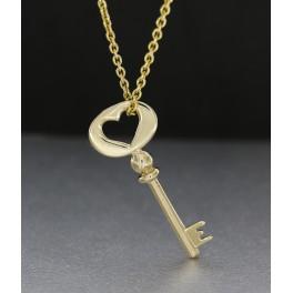 """""""Locked Love"""" sølv fremstillet og designet Kim Colding"""