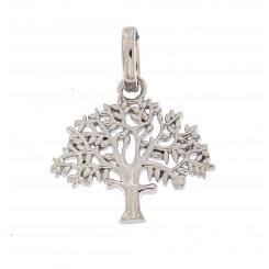 """""""Livets træ lille sølv """"19 mm originalen Design Kim Colding"""