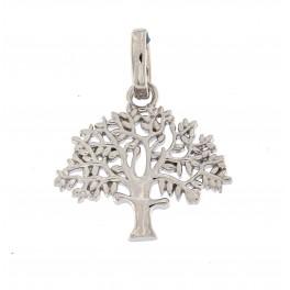 """""""Livets træ"""" sølv 19 mm originalen design Kim Colding"""