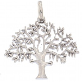 """""""Livets træ"""" sølv 25 mm originalen design Kim Colding"""