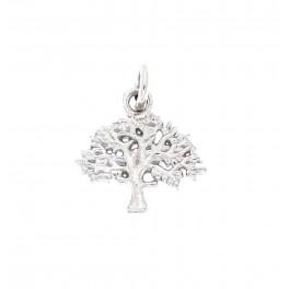 """""""Livets træ mini sølv"""" 12 mm originalen Design Kim Colding"""