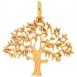 """""""Livets træ"""" sølv forgyldt 25 mm originalen design Kim Colding"""