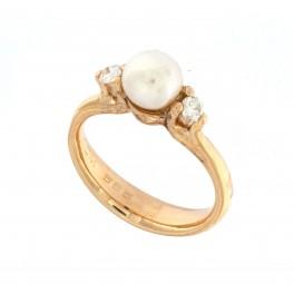 """""""Contesse perle ringen"""" Colding design"""